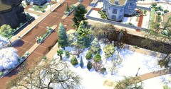 The Sims 4 First snow mod