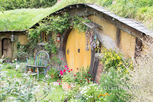 Detail from Hobbiton