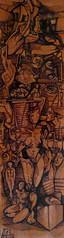 Sogno, china su tavola, 15×45 2005