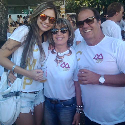 Flávia Couto, Carmelita e José Renato Mendes