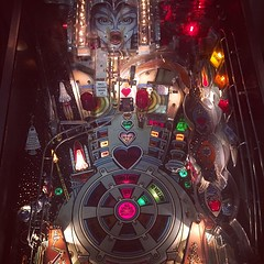 """""""The Machine: Bride of Pin Bot."""" Forgot how much fun video games (and pinball machines could be). #TheWorldWalk #austin #travel #twwphotos"""