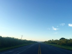 The Road Ahead. Day 177. Moving southwest towards Ciudad Victoria, the land is becoming more lush and mountainous. Seems like the towns are a little more prosperous than in the arid areas just below Reynosa. #TheWorldWalk #travel #mexico #wwtheroadahead