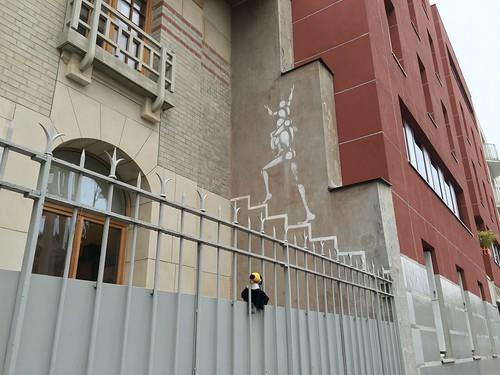À Paris, il y a plein d'artistes qui peignent dans la rue !