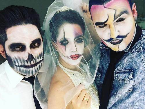 Fernando Olibeira, Bruna Esposito e Gil Minogue