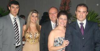 Rodrigo, Sheila, Dionisio, Marcia e Eder