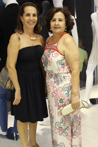 Sônia Paiva e Ednéia Campos