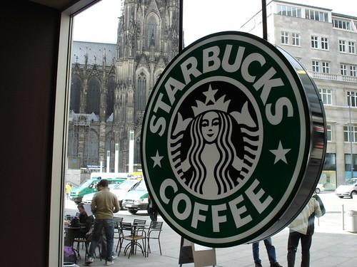 Starbucks in Köln Hbf