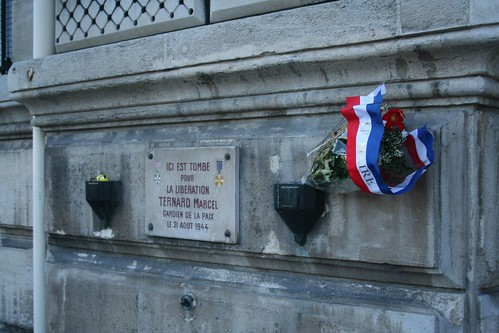 Memorial for a solder lost in the liberation o...