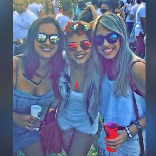 Ianka Duarte, Bárbara Borges e Melissa Freitas