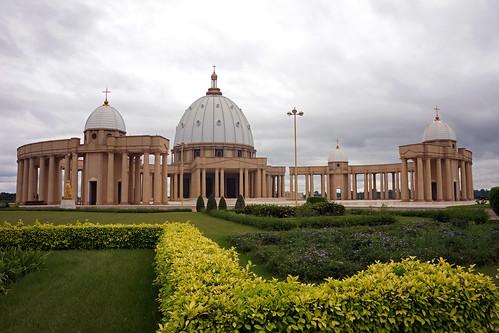 Côte d'Ivoire : Yamoussoukro - Basilique Notre Dame de la Paix