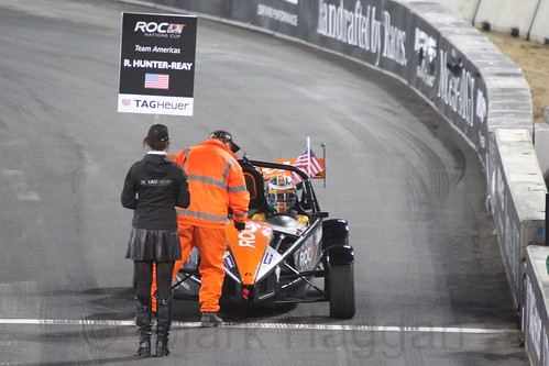 Ryan Hunter-Reay in The Race of Champions, Olympic Stadium, London, November 2015