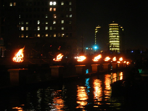 Waterfire in Providence, Rhode Island, July 29, 2006