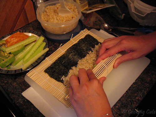 Making sucessful sushi!