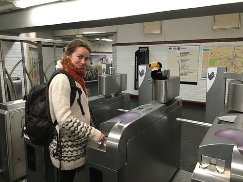 Puis le métro !