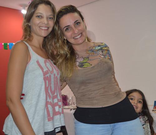 Emanuelle Pires, Ana Rachel Pires e Maria