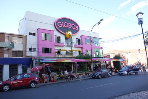 Un endroit pour manger des glaces, très populaire auprès des enfants