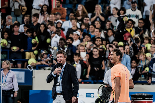 """Rafael Nadal celebrates his win • <a style=""""font-size:0.8em;"""" href=""""http://www.flickr.com/photos/125636673@N08/31952979906/"""" target=""""_blank"""">View on Flickr</a>"""