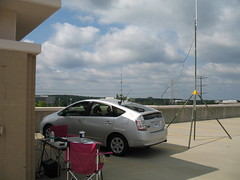 """IMG_0127: Net Control on Top of the Parking Garage • <a style=""""font-size:0.8em;"""" href=""""http://www.flickr.com/photos/54494252@N00/179333810/"""" target=""""_blank"""">View on Flickr</a>"""