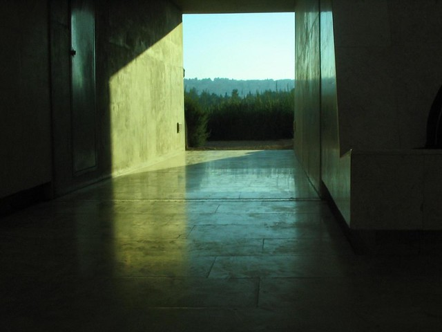 """Space that sees""/ James Turrell .(afternoon)"