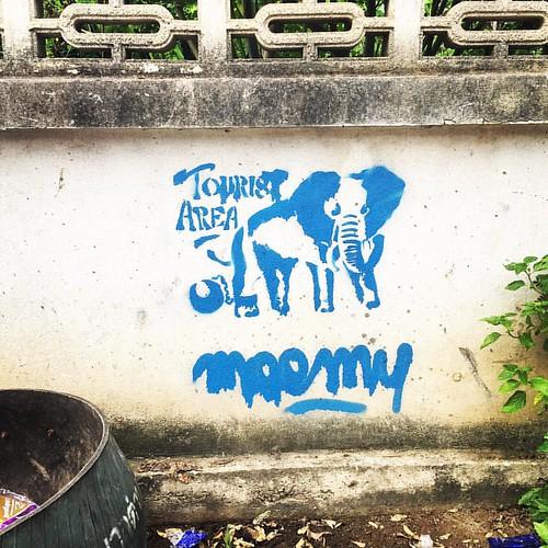 #Tourist #Area #streetart  @ #Pai #Thailand  #thailoup #traveloup