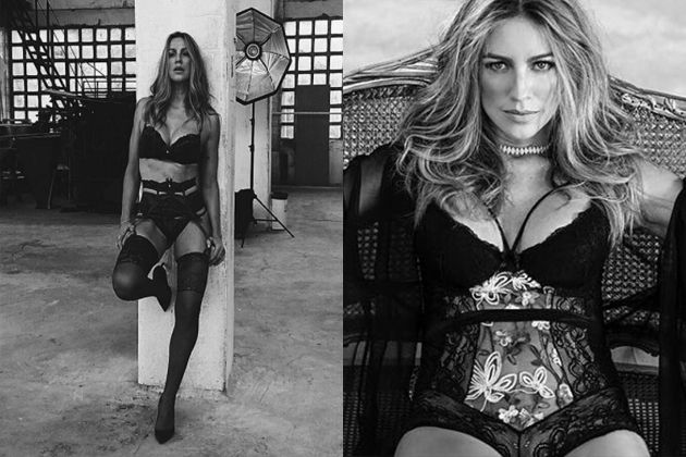 Luana Piovani posa de lingerie: 'sem filtro, nem retoques'