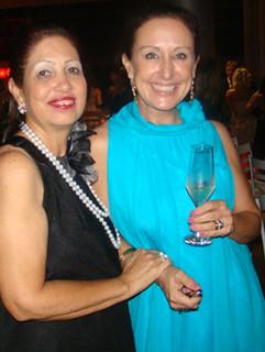 Lelena Almeida e Raquel de Carvalho