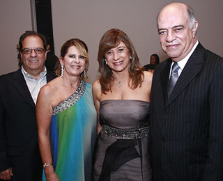 José Renato Mendes e Carmelita, com Gracinha e Omar Silva Jr.