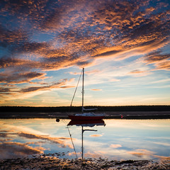 """Findhorn Bay Sunset II • <a style=""""font-size:0.8em;"""" href=""""http://www.flickr.com/photos/26440756@N06/21829706021/"""" target=""""_blank"""">View on Flickr</a>"""