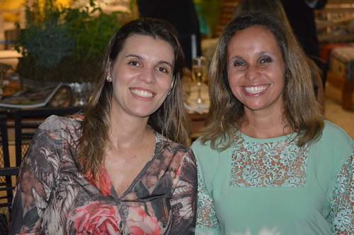 Yáscara Damião e Karina Condé