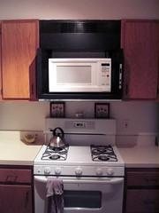 Old stove hood