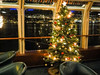 Christmas tree on the ship