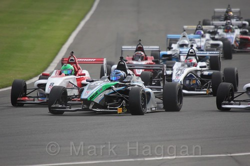 BRDC F4 Race Two at Donington Park, September 2015