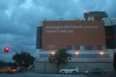strangers are