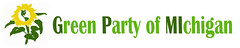 Green Party of Michigan banner