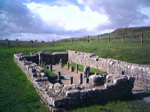 The Temple of Mithras at Carrawburgh