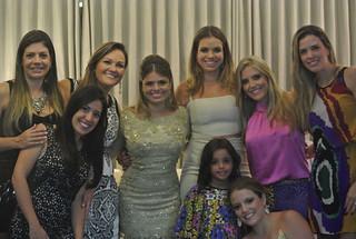 Fernanda Franco, Alice dos Santos Carvalho, Ana Lúcia, Maria Paula, Marcela Albert Saliba, Aline Amaro, Heleninha e Fernanda Albert Saliba.