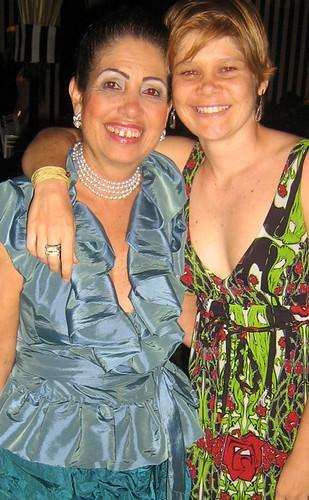 Lelena Almeida e a filha, Paulinha