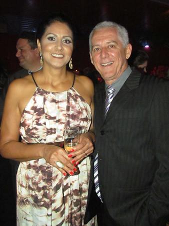 Marta Helena e Adelmo Queiroz
