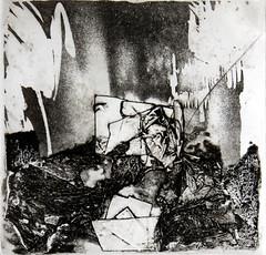 RIFIUTI 2, Acquaforte, puntasecca, collografia, carborundum