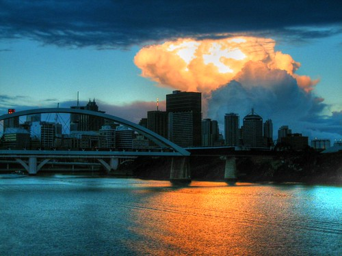 There was something strange over the city today by Garion88