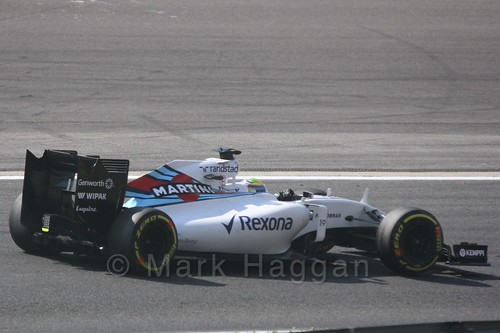 Felipe Massa in Free Practice 2 for the 2015 Belgium Grand Prix