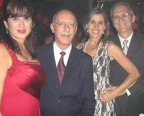 June Coelho e Mauro Abreu, Zilma e Dante Assef