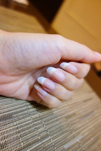 凝膠指甲延甲