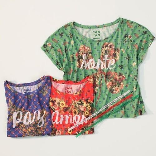 T-Shirts da Cantão com desejos de um 2017 muito feliz!!!