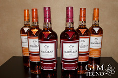Presentación de whiskies The Macallan en Guatemala