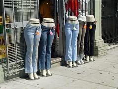 San Francisco: Fashion shop on Mission