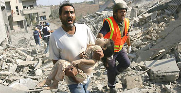 my daughter! Lebanon 2006, AP photo