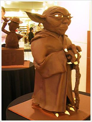 Tafe Chocolate Sculptures - Yoda