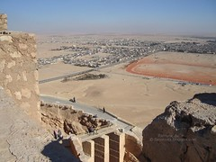 The Look To Palmyra From FakhrEddin Castle On The Hill