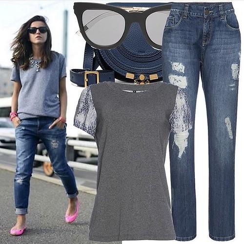 O seu jeans Scalon muito mais Fashion!!!